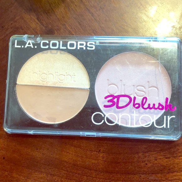 L.A. COLORS Other - L.A. Colours 3D Blush contour